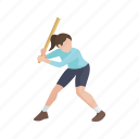 games, player, softball, sport, wiffle ball, wiffle player, yard games icon