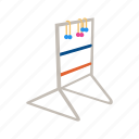 games, gold ball, ladder golf, sport, tethered ball, yard games icon