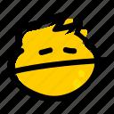 emoji, face, emotion, expressionless, expressionless face, expressionless mouth, straight face