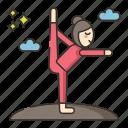 meditation, retreat, yoga icon