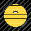 balance ball, ball icon