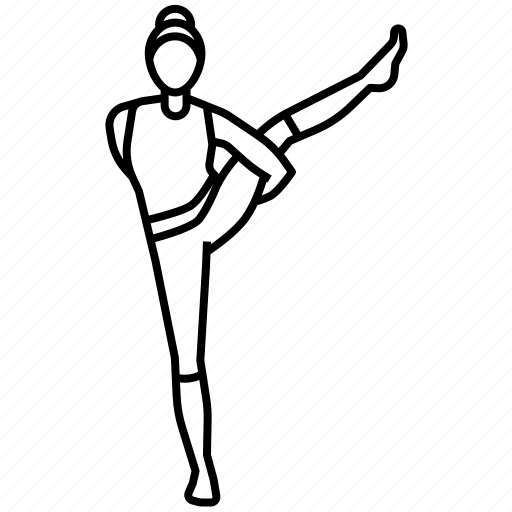 Bird, of, paradise, pose, yoga icon - Download on Iconfinder