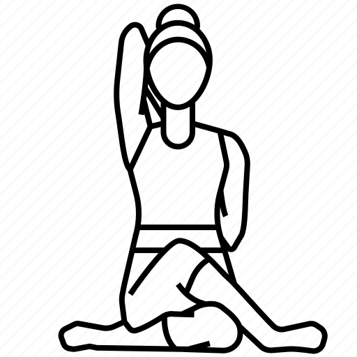 Cow, face, pose, yoga icon - Download on Iconfinder