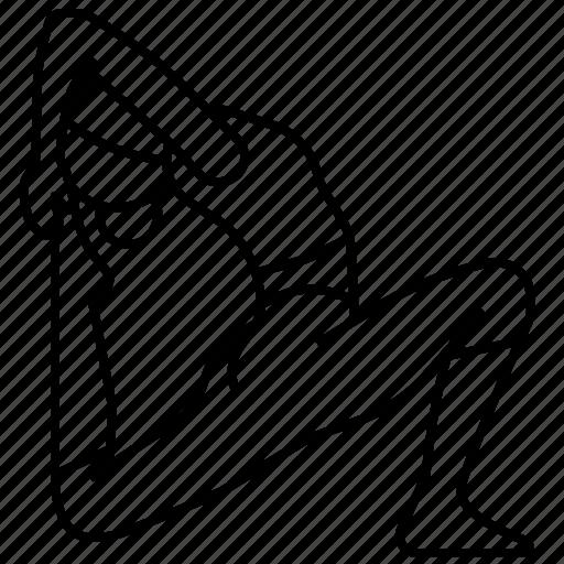 Ii, pigeon, pose, yoga icon - Download on Iconfinder
