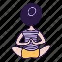 pose, asana, behind, yoga, hands, meditation, back