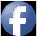 blue, button, facebook, social icon