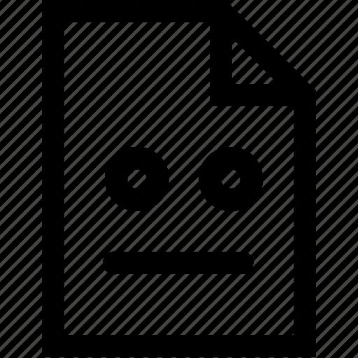 emoji, emotion, file, hang, situation icon