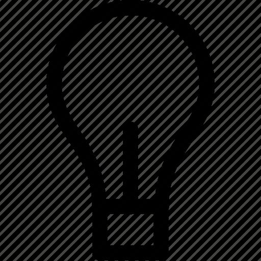 bulb, idea, light, luminous, source icon