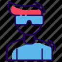 boy, human avatar, male, man, teenager icon