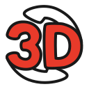 3d-sign, panorama, video, youtube icon