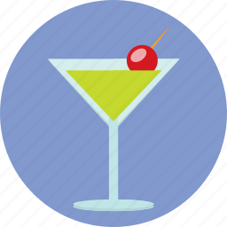 alcohol, cocktail, drink, food, glass icon