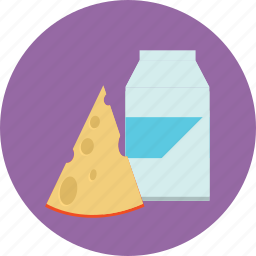 cheese, dairy, food, lactose, milk icon