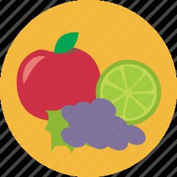 food, fruit, healthy, season icon
