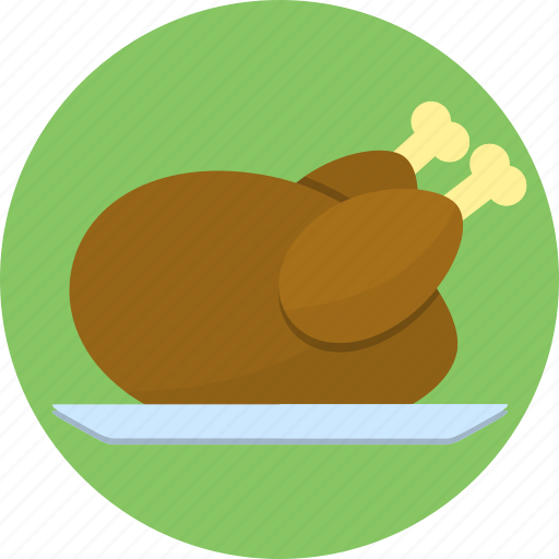 chicken, eat, food, poultry, turkey icon