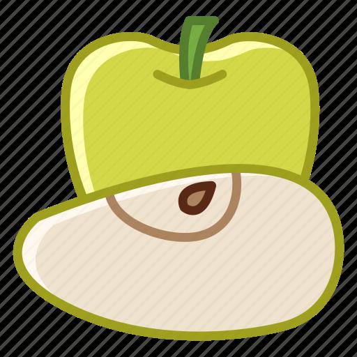 apple, fit, food, fruit, garden, vitamins, yumminky icon