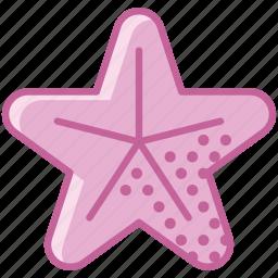 animal, holiday, ocean, sea, star, summer, yumminky icon