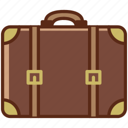 baggage, holiday, suitcase, tourism, travel, vacation, yumminky icon