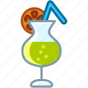 bar, beach, drink, holiday, summer, vacation, yumminky icon