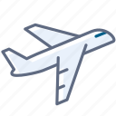 airplane, holiday, plane, take-off, tourism, travel, yumminky icon
