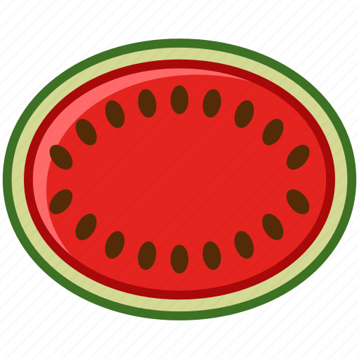 fit, fruit, summer, tropical, vitamins, watermelon, yumminky icon