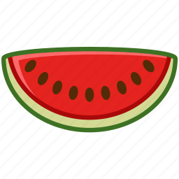 fit, fruit, summer, tropical, vitamins, watermelon, yumminky icon