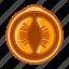 food, fruit, mandarin, orange, tropical, vitamins, yumminky icon