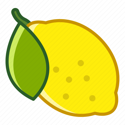 fit, food, fruit, lemon, tropical, vitamins, yumminky icon