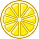 fit, food, fruit, lemon, tropical, vitamins, yumminky icon