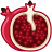 fit, food, fruit, pomgrenate, tropical, vitamins, yumminky icon