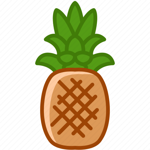 fit, fruit, paradise, pineapple, tropical, vitamins, yumminky icon
