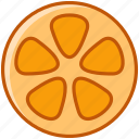 fit, fruit, kumkvat, orange, tropical, vitamins, yumminky icon