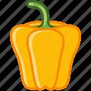 bio, garden, paprika, pepper, vegetable, vitamins, yumminky icon