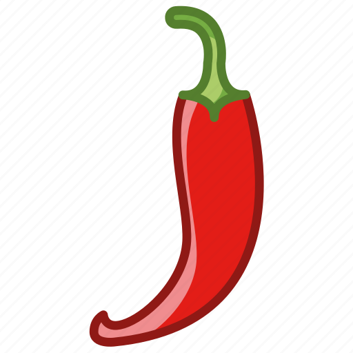 bio, chilli, garden, paprika, vegetable, vitamins, yumminky icon