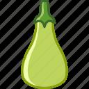 garden, vegetable, vitamins, bio, gourd, zucchini icon