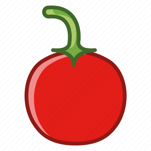 chilli, garden, hot, paprika, pepper, vegetable, yumminky icon