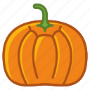 food, garden, gourd, halloween, vegetable, vitamins, yumminky icon