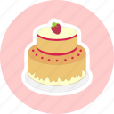 delicacy, gurman, wedding cake, yummy icon