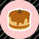 bakehouse, bakery, birthday, cake icon