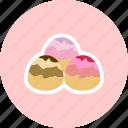 candy, dessert, marzipan, sweet