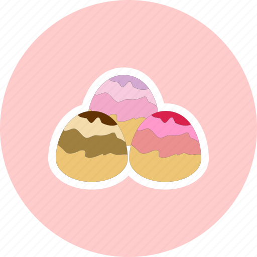 candy, dessert, marzipan, sweet icon