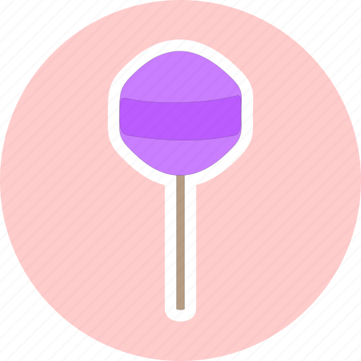 candy, confectionery, lollipop, sweet snack icon