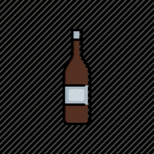 bottle, food icon
