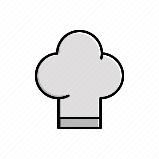 chef, food, hat icon