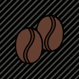 bean, coffee icon