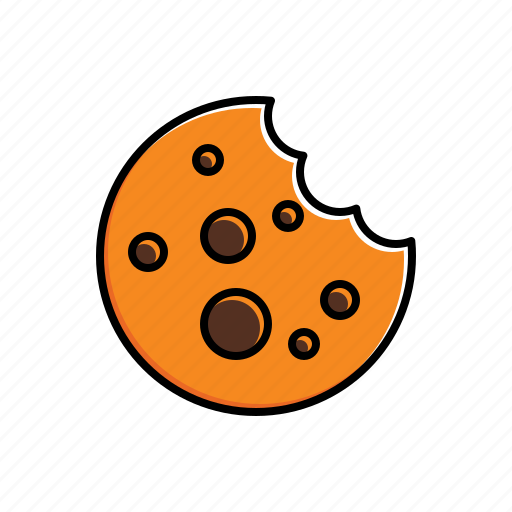 bite, cookie icon