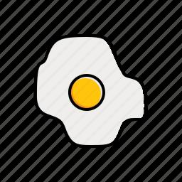 egg, food icon