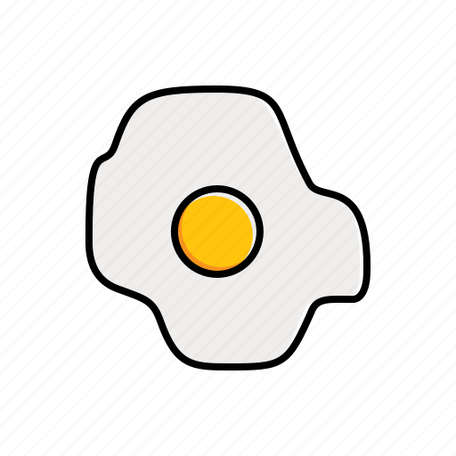 egg, food icon