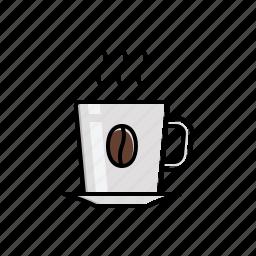 coffee, food, hot icon