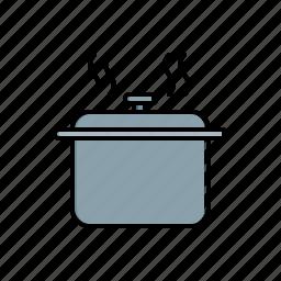 food, hot, pot icon