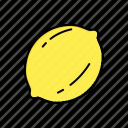 food, lemon icon